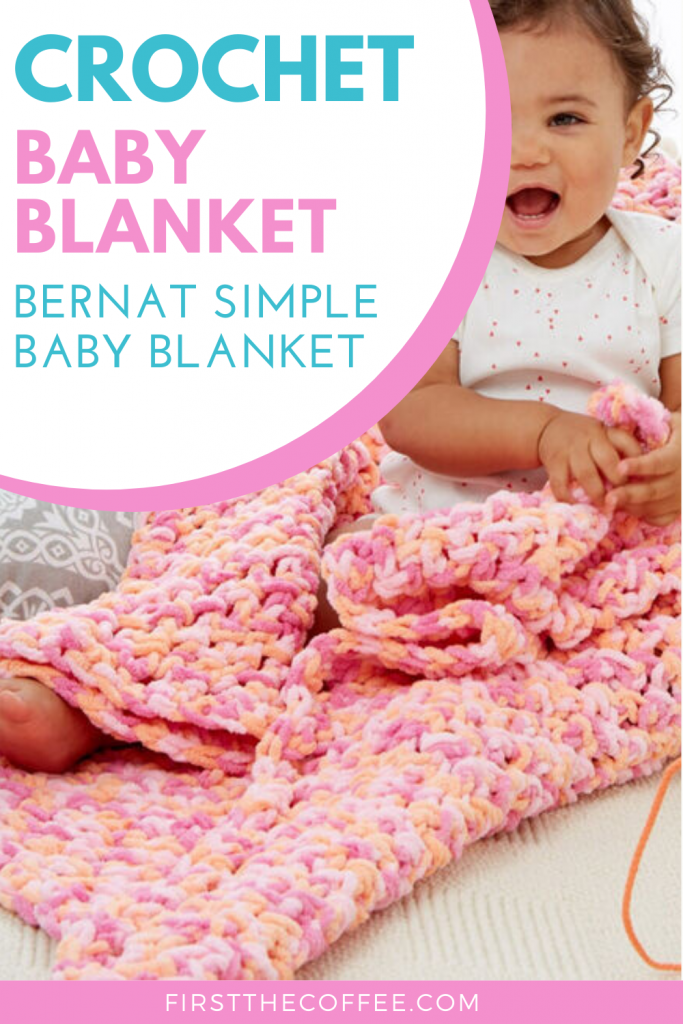 Crochet Baby Blanket Patterns First The Coffee
