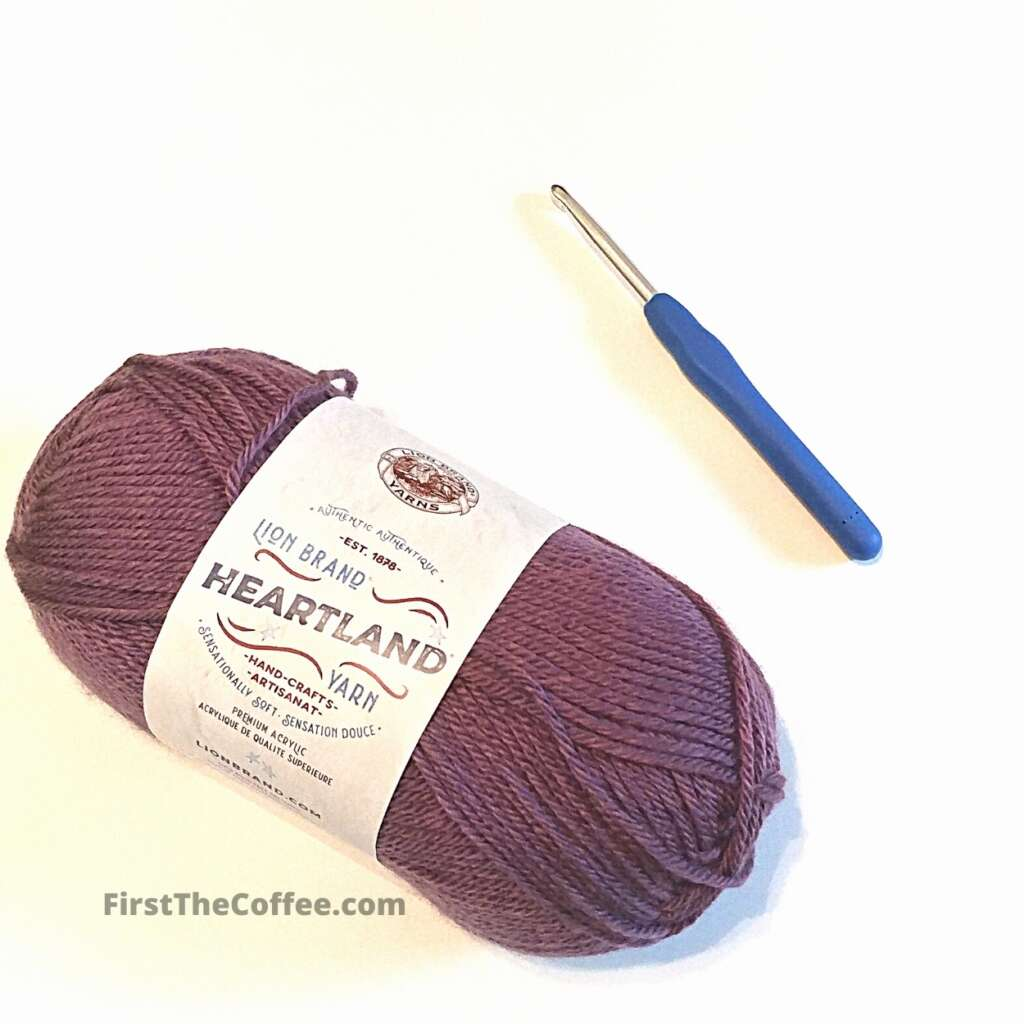 Lion Brand Heartland Yarn in the Kobuk Valley Color